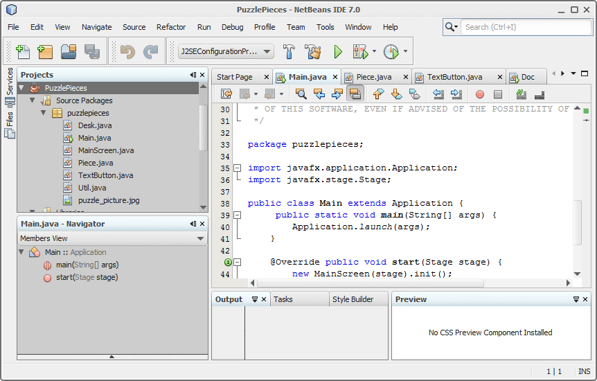 Synthetica NetBeans Plugin Simple2D