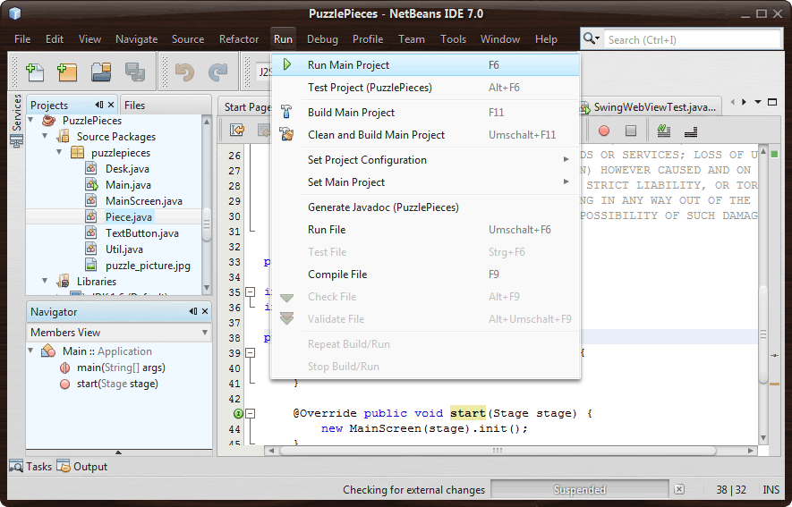 Swing Looks    Great!: NetBeans 7 (IDE + RCP) With New