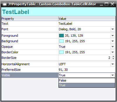 Properties table forum vaadin for Table vaadin 6