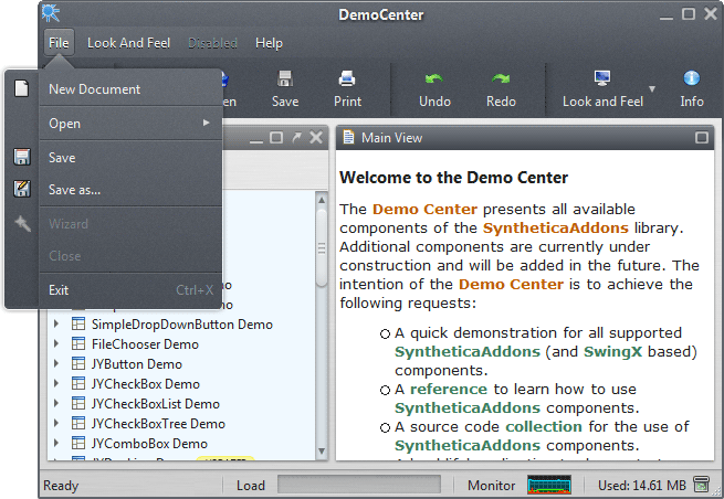 Synthetica AluOxide Theme Screenshot